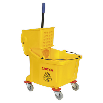 BM01 Sealey Tools Mop Unit 36ltr [Janitorial] Water Container Buckets Mops