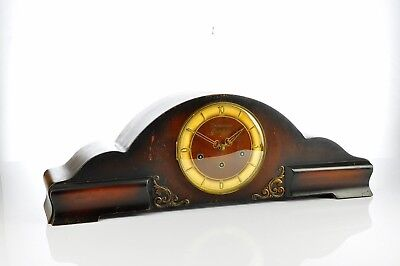 """Exceptional 1935` Urgos Mantel Clock Westminster Chime """"Superb Chime"""""""