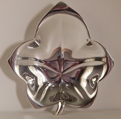 Tiffany & Co. Makers Sterling Silver Leaf Candy Trinket Jewelry Nut Dish No Res.
