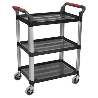 CX309 Sealey 3-Level Composite Workshop Trolley [Tool Trolleys]