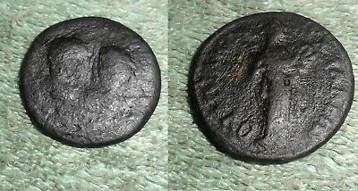 RFM 49609 Ancient Roman Provincial Bronze  AE 26mm