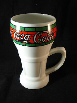 Coca Cola Coffee Mug Colorful Mosaic Stained Glass Pattern