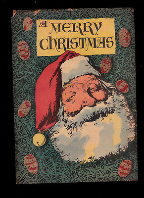 Merry Christmas 1948 Walt Kelly art? Flaky pages  Giveaway