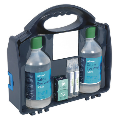 EWS01 Sealey Tools Eye Wash Station [First Aid] Safety Products First Aid Kits