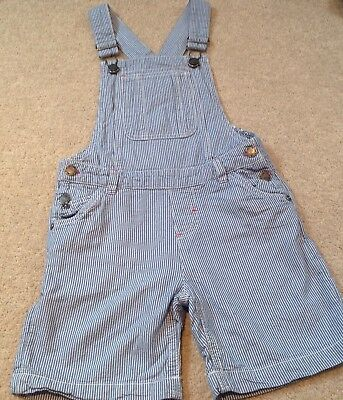 Girls Fat Face Short Dungarees (8-9 Years)