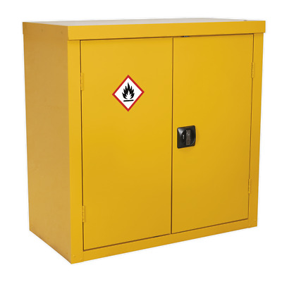 FSC05 Sealey Flammables Storage Cabinet 900 x 460 x 900mm [Cabinets]