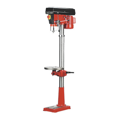 GDM160F Sealey Pillar Drill Floor 16-Speed 1580mm Height 550W/230V