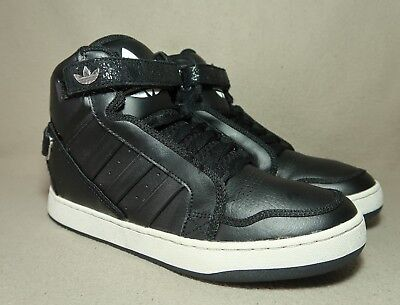 check out 97d9f c27ab VGC ADIDAS ADI-RISE 2.0 Men s Black  White Leather Trainers UK 7  EU