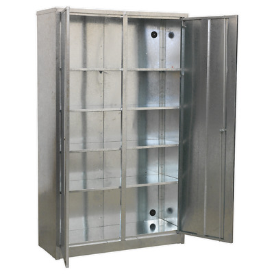 GSC110385 Sealey Galvanized Steel Floor Cabinet 5 Shelf Extra-Wide [Cabinets]