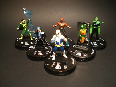 HeroClix DC Fast Forces - The Rogues - Miniatures x6 w/ Cards (#9)