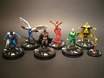 HeroClix DC Fast Forces - Earth 2 - Miniatures x6 w/ Cards (#11)