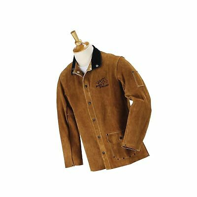 """Revco Black Stallion 30WC 30"""" Cowhide Leather Welding Jacket - Large"""