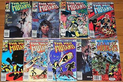 Marvel lot NEW MUTANTS(1983)1-9,11,12,13,14,15,16,17,18,19-31+special edition+