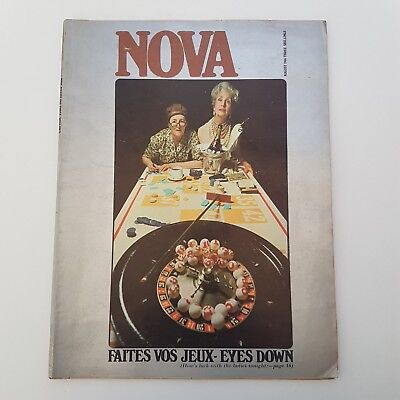 NOVA MAGAZINE. August 1966 Fab Fashion & Style