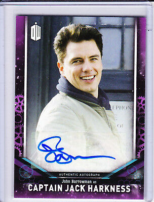 Doctor Who Signature Series 2018 Trading Cards Purple Autograph Selection