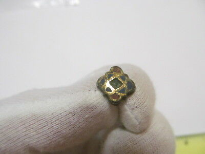 An ancient button in enamel and gilding Kievan Rus Vikings 10-13 AD № 450/5.