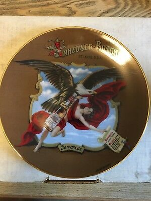 Budweiser Archives Series Plate Collection Ganymede Plate Number 1263 2nd Issue