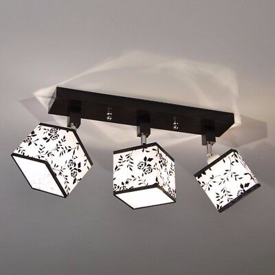 plafonnier spot de plafond lls313dpr lampe luminaire projecteur salon plafonnier eur 69 90. Black Bedroom Furniture Sets. Home Design Ideas