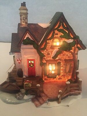 O'well Capt Smith Lighted Christmas Village Building 2001 Limited Edition
