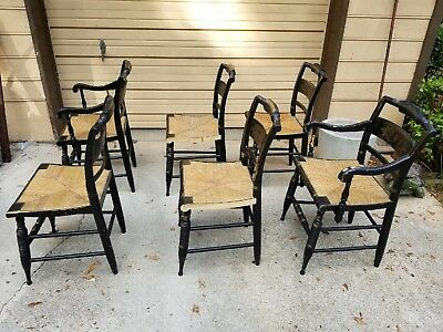 L Hitchcock chairs