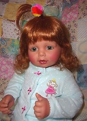 "My Twinn 20"" Poseable Toddler Baby Girl Doll Carrot Curls"