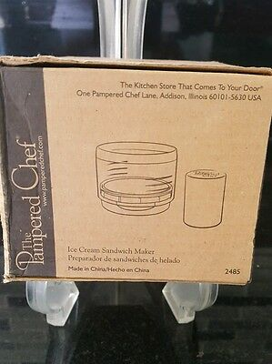 Pampered Chef new sealed in the Box ice cream cookie maker