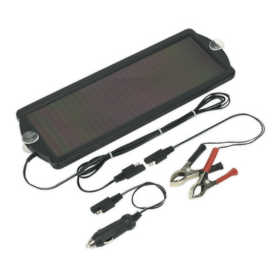 SPP01 Sealey Solar Power Panel 12V/1.5W [Battery Maintenance] Solar Power Panels
