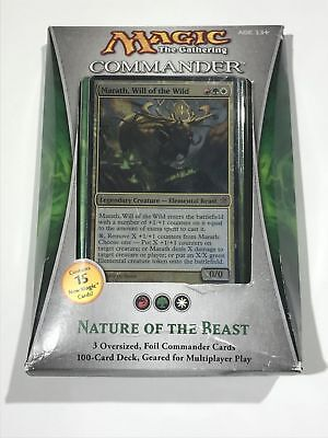 1X Nature of the Beast - Commander 2013 - Sealed Deck * FREE SHIPPING OVER