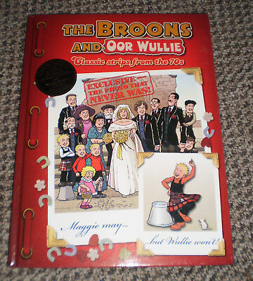 The Broons and Oor Wullie: Classic strips from the 70s