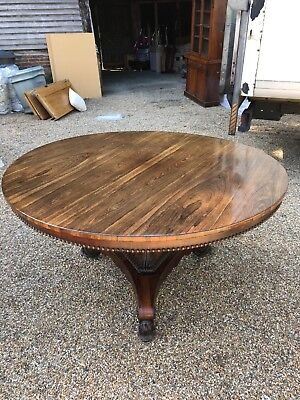 Stunning William IV Rosewood Dining room table