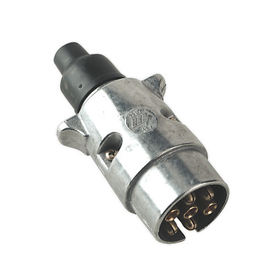 TB06 Sealey Towing Plug N-Type Metal 12V [Towing Accessories]