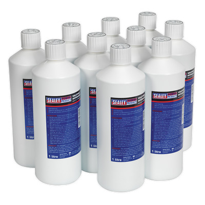 VMR921 Sealey Carpet/Upholstery Detergent 1ltr Pack of 10 [Valeting Machines]