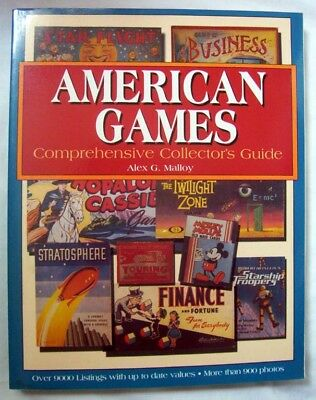American Games, Comprehensive Collector's Guide, 9000 Listings, 900 Photos