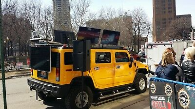 2003 Hummer H2  H2 D.J. and Video Entertainment System