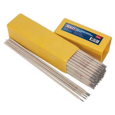 WESS5032 Sealey Welding Electrodes Stainless Steel Ø3.2 x 350mm 5kg Pack