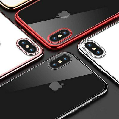 Luxury Ultra Slim Shockproof Glossy Case Cover for iPhone Xs Max XR