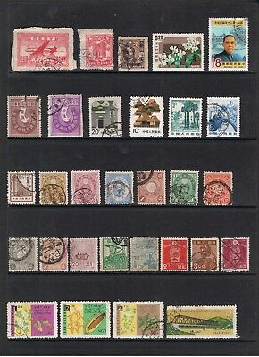 Selection Of Early Stamps From Asia: Korea/japan/taiwan/vietnam.