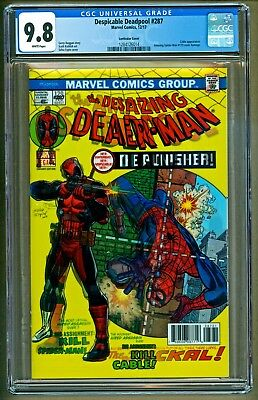 Despicable Deadpool #287 Lenticular Amazing Spider-Man #129 Variant CGC 9.8