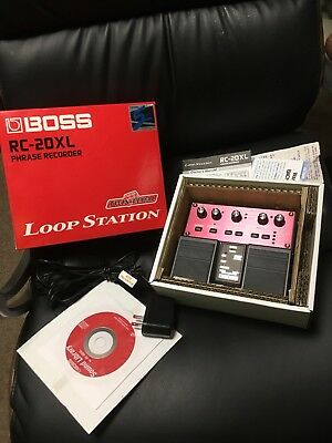 Boss RC-20XL phrase recorder Loop Station