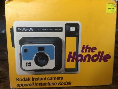 Kodak Handle Instant Camera- Great Condition Still In Original Box