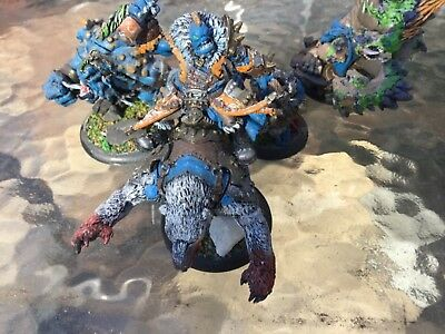 warmachine hordes trollblood army lot