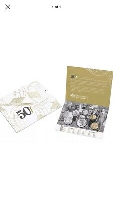 2015 Uncirculated Coin Set 50th Anniversary of the RAM
