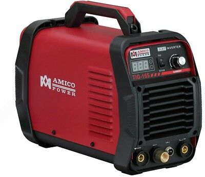 AMICO POWER Amico 160 Amp High Frequency TIG Torch/Stick/ARC DC Inverter Welder