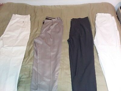 4 Pairs of Men's Pants - Business Casual Dress Attire - Used in Good Condition