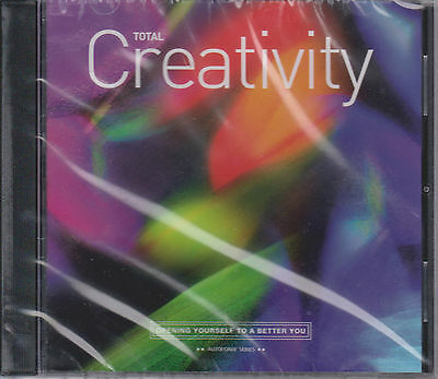 TOTAL CREATIVITY Subliminal CD with Holosync & Autofonix - Centerpointe Research