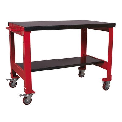 AP1100M Sealey Mobile Workbench 2-Level [Mobile Workbenches Sealey]