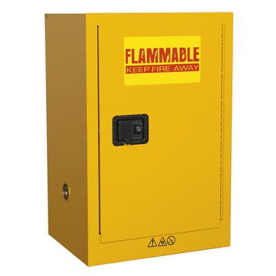 FSC07 Sealey Flammables Storage Cabinet 585 x 455 x 890mm