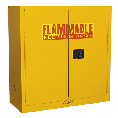 FSC09 Sealey Flammables Storage Cabinet 1095 x 460 x 1120mm