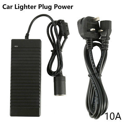 AC 240V To DC 12V Home Car Power Converter Adapter 10A 120W For