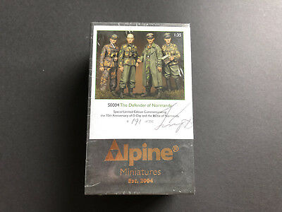 1/35 Alpine Miniatures S0004 The Defender of Normandy #191 of 200, MIB